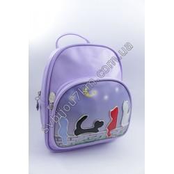 Рюкзак сиреневый Котики