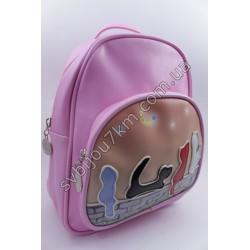 Рюкзак розовый с котиками