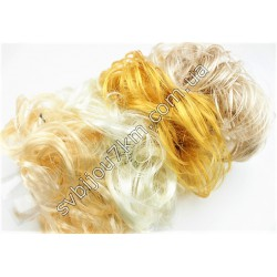 Резинка для волос из волос Блонд
