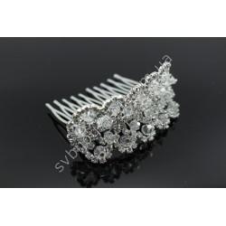 Гребень для волос с кристаллами в прическу