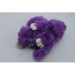 Брелок Кролик фиолетовый