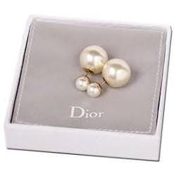 Серьги пусеты в стиле Dior