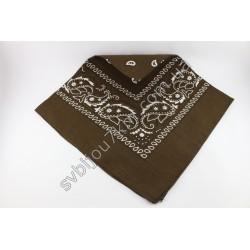 Платок бандана Traum коричневый