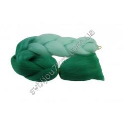 Канекалон для волос мятно-зеленый