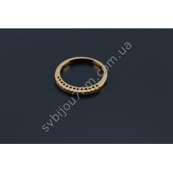 Кольцо женское Xuping (позолота)
