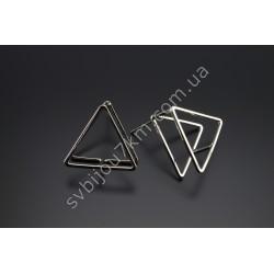 Серьги Треугольники