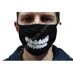 Маски защитные на лицо Зубы