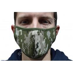 Маска защитная на лицо Хаки