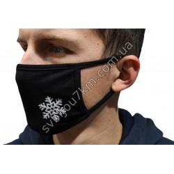 Маска защитная на лицо Снежинка
