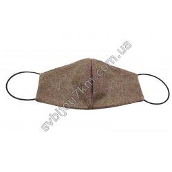 Маска защитная на лицо с глитером