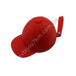Ключница-кошелек Кепка красная
