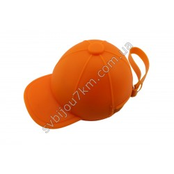 Ключница-кошелек Кепка оранжевая