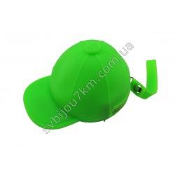 Ключница-кошелек Кепка зеленая