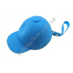 Ключница-кошелек Кепка голубая