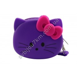 Кошелек-ключница Hello Kitty фиолетовая