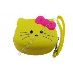 Кошелек-ключница Hello Kitty желтая