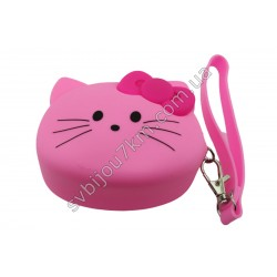 Кошелек-ключница Hello Kitty розовая