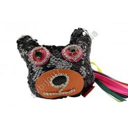 Брелок Мишка черного цвета
