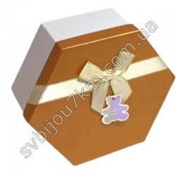 Подарочные коробки с бантиком