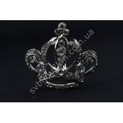 Кольцо зажим для палантина Корона