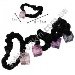 Резинки для волос Прозрачный кристалл