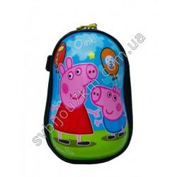 Детский пластиковый рюкзак Свинка Пеппа