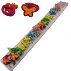 Детские резинки для волос Бабочки