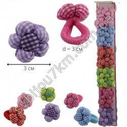 Резинка для волос детская цветочек подушка