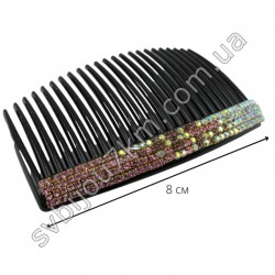 Гребешок для волос со стразами