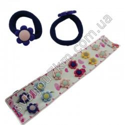 Детские резинки для волос Цветочек