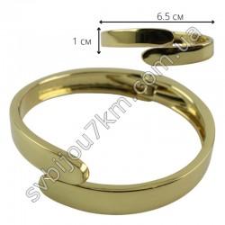 Браслет металлический цвет металла золото