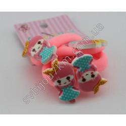 Резинки для волос детские Куколки пластиковые