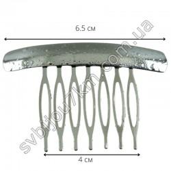 Гребешок для волос металлический