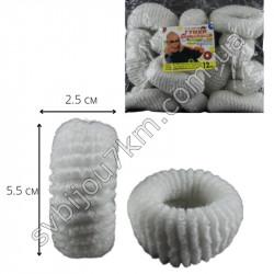 Резинка для волос Калуш махровая (12 шт )