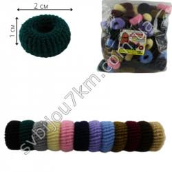 Резинка для волос Калуш махровая ( 120 шт )