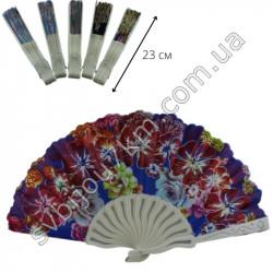 Веер женский ручной пластиковый