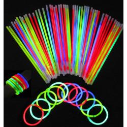 Светящиеся палочки неоновые браслеты SoFun