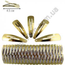 Заколка для волос тик-так (метал)
