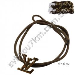 Резинка для волос в стиле LOUIS VUITTON