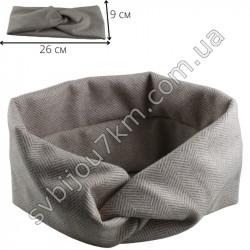 Кашемировая повязка для волос