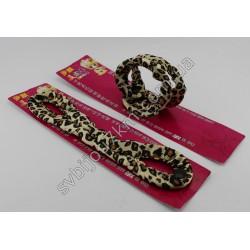 Твистер для волос софиста-твиста принт леопард