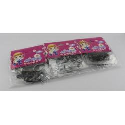 резинка-тропиканка силиконовая для афрокосичек мелкая нарезка