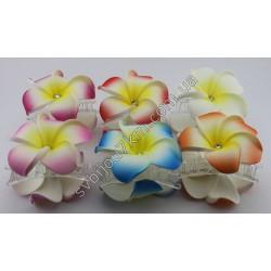заколка краб для волос с тайским цветком