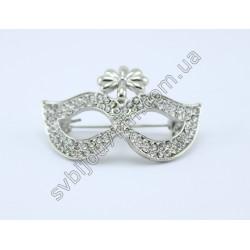 Брошь женская Mask