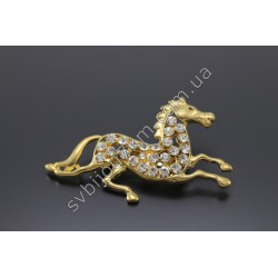 Брошь женская Лошадь