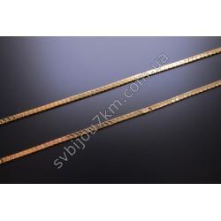 Цепочка на шею плетение Шнурок