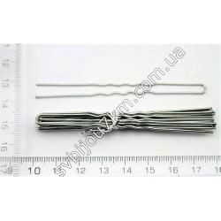 SVT 1739 Шпильки для волос 8 см (серебро)
